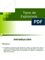 Tipos de Explosivos- Curso Pyt