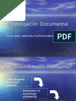 5 Investigación Documental Definición y Formas