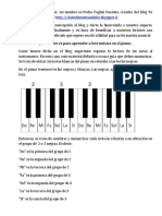 Guia de Lectura Al Piano