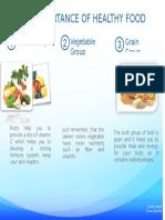 folleto las verduras