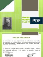 Burocracia Modelo Weber