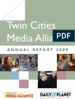 Twin Cities Media Alliance 2009 Annual Report