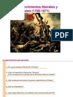 3 los movimientos liberales y nacionales  1789-1871