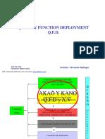Análisis de Valor y QFD
