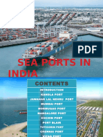 The SEA Ports in India