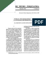 Entre El Psicosomatico y Patologia Psicosomatica