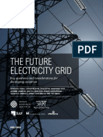 The Future Electricity Grid