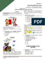 Claves Semana Nº 14 Compl. de Textos