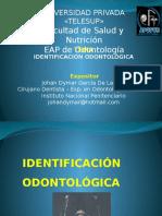 Identificación Odontológica