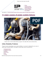 11 Major Causes of Power System Failures _ EEP