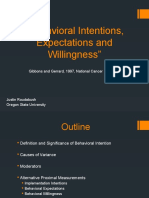 H571 Week 2 - Behavioral Intentions- Justin