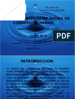 Clase N. 6 - Planta de Agua Potable