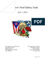 Ohio Uniform Food Safety Code