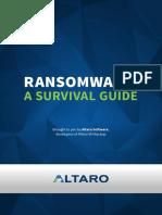 Altaro Ransomware a Survival Guide