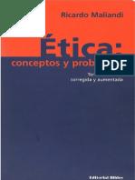 MALIANDI, RICARDO - Ética, conceptos y problemas.pdf
