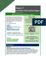 EPA Region 7 Communities Information Digest - September 16, 2016