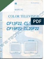 Toshiba CF1322_CL14F22_CF19F22_CL20F22_TAC9610_Chasis_N5E
