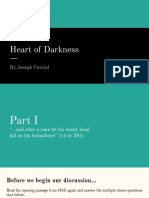 heart of darkness daily discussion power point