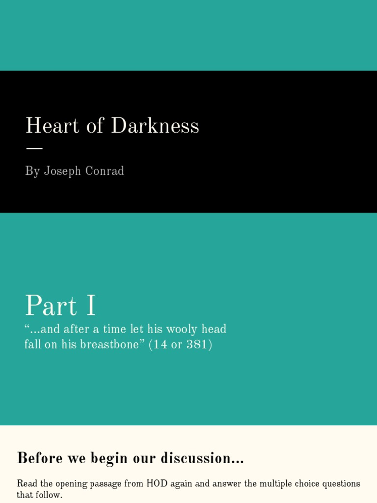 heart of darkness and kurtz