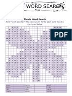 56477 Irregular Plurals 2 Wordsearch