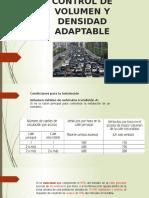 Control de Volumen y Densidad Adaptable