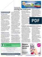 Pharmacy Daily for Fri 18 Nov 2016 - Guild push for dispensing fee hike, TGA consultation low, Patients back pharmacy services, Events Calendar and much more