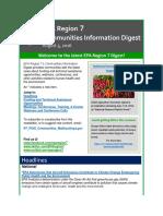 EPA Region 7 Communities Information Digest - August 5, 2016