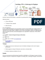 Postgrado Online en Coaching