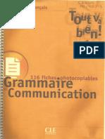 Tout Va Bien 1_GrammaireCommunication