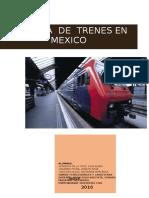 Trabajo de Trenes Mexico