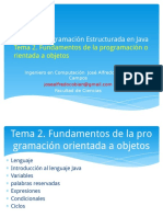 03 Tema 2 Fundamentos de La Programacion Orientada a Objetos