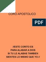 Coro Apostolico