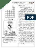 5ª P.D - 2016 (5ª ADA - 1ª Etapa - Ciclo III) - PORT. 5º Ano - Blog Do Prof. Warles