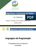 Algoritmos e Estruturas de Dados - Algoritmos