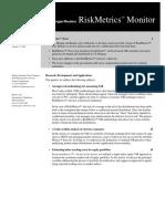 RiskMetrics (Monitor) 2
