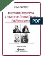 Historia Derecho Penal Representantes