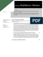 RiskMetrics (Monitor) 3
