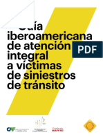Guía Iberoamericana de Atención Integral a Víctimas