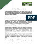 Relatoria Taller Plan de Desarrollo Del Departamento de Guainía