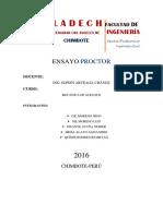 Ensayo Proctor Ppao