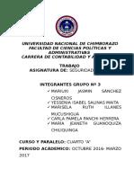 Grupo Nª 3 Dirección Provincial