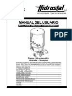 MANUAL DE TANQUE HIDRONEUMÁTICO