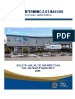 Boletín Anual de Estadísticas Del Sistema Financiero 2015