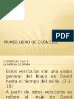 Primer Libro de Cronicas