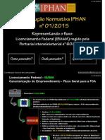 Licenciamento Federal IBAMA Representado o Fluxo Da Instrucao Normativa Iphan n 01 2015