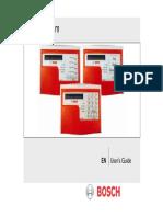 Bosch Fire System en User's Guide