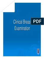 Clinical Breast Examination