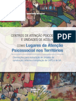 Centros Atencao Psicossocial Unidades Acolhimento
