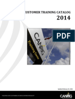 2014 Canrig CUSTOMER Training Catalog