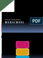 IND1CACIONES de Artr0scopia